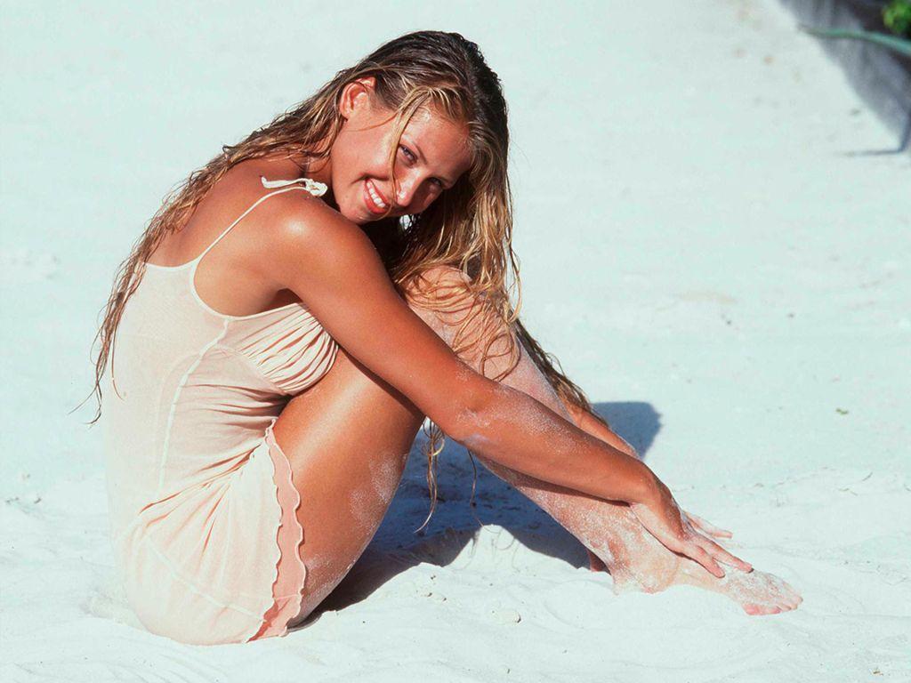 Anna Kournikova Beach